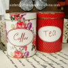 Coffee and Tea Tin Box Set