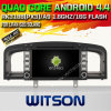 Witson Android 4.4 Car DVD for Lifan 620/Solano with Quad Core Rockchip 3188 1080P 16g ROM WiFi 3G Internet Font DVR Picture in Picture (W2-F9363L)