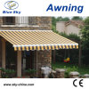 Outdoor Garden Aluminum Polyester Retractable Awning (B3200)