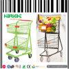2 Tier Double Basket Shopping Trolley Cart