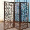 Professional Custom Stainless Steel Living Room Divider Room Partition Metal Divider Floding Screen