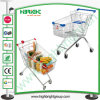 Super Market Shopping Trolley Cart with Good Wheels
