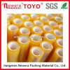Plastic Core Tape Stationery Tape Yellowish BOPP Acrylic Adhesive Tape
