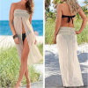 Sexy Open Cut Semi Transparent Sexy Lace Beach Dress (50126)
