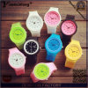 Yxl-966 Fashion Geneva Watch Jelly Different Colors Watch Quartz Silicone Casual Sport Relojes Girl Women Wristwatch Hot Sale