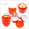 PP Food Container, Round Plastic Lunch Box