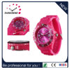 Kids Silicone Strap Quartz Watch with Colorful Dial