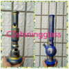 Good Quality Copper Plating Purple Glass Water Pipe
