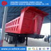 Tri-Axle 40 Tons Self Tipping Dump Semi Trailer Rear Tipper Trailer