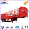 Best Selling 3 Axles Store House Bar Type/Fence/Cargo Stake Semi Trailers for Sale
