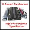 12 Bands Smart GPS Jammer/WiFi Jammer /4G Signal Jammer/Blocker