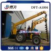 Power Pole Erection Screw Pile Driver Equipment Borehole Drilling Rig