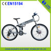 26 Inch Folding Hidden Battery Electric Mountain Ebike