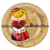 7 Inch Disposable Design Paper Plate