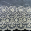 off White Cotton French Lace Fabric (L5116)