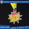 High Quality Gold Plated 3D Metal Sport Medallion for Award