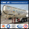 Cimc Huajun 50cbm Hydrated Lime Powder Tanekr Trailer