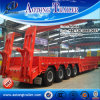 30tons-100tons Lowbed Low Loader Semitrailer with Side Wall / Side Boards