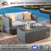 Well Furnir Wf-17015 Wicker 2 Piece Outdoor Sofa Set