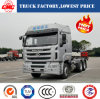 Chinese Cheapest/Lowest Balong 400HP Heavy Tractor Head (tractor lorry)