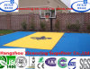 with CE and DIN Approval Interlocking Embossed Basketball Flooring