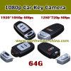 80fps Car Key Camera Support IR Night Vision
