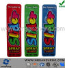 Full Color Semi Glossy Lovely Cartoon Spray Candy Self Adhesive Stickers