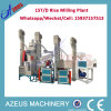 15t/D Complete Rice Milling Plant (from paddy to white rice)