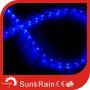 Sunrain Light Flat Blue LED Rope Light