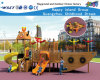 Wooden Castle Commercial Playground Equipment Hf-16901