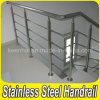 Satin Finish 304 Stainless Handrail Steel Railing for Stairs
