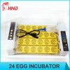 Hhd Latest Model 24 Eggs Chicken Egg Incubator Yz-24A