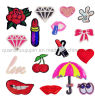 Custom Various Clothes Bag Heat Transfer Sequin Embroidery Patch
