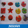 Free Sample Logo Design Colorful Crystal 3D Doming Epoxy Sticker