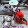 2013 New 58CC Gasoline Timber Cutting Saw (HC-GS5800A)