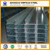 6m Ss400 Mild Steel C Lipped Channel Beam