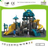 Kaiqi Medium Sized Cool Robot Themed Children′s Playground with Slides and Climbing Wall (KQ20070A)