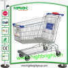 Asian Style Wire Metal Shopping Trolley