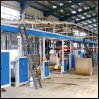 Automatic Corrugated Paperboard Making Production Line
