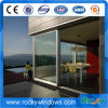 Double Glass Aluminum Custom Sliding Doors, Swing Doors, Folding Doors, Casement Doors