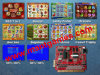 Slot Game Board Red 7 in 1 for Sale