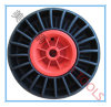 10X3 Solid Rubber Wheel with Fan-Ship Rim for Boat Trailer