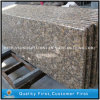Full Bullnose Solid Surface Giallo Fiorito Granite Countertops for Kitchen
