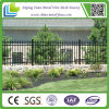 Residential Ornamental Iron Fence with Spear Top