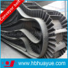 Large DIP Angle Conveying Rubber Sidewall Conveyor Belt