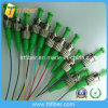 0.9mm St APC Singlemode 12 Core Fiber Optic Pigtail