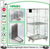 Supermarket Roll Container Cage Warehouse Storage Cage