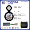Single Model Optical Fiber Cable All Dielectric Self-Supporting Aerial Cable (ADSS)