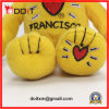 China Teddy Bear Manufacturer Yellow Teddy Bear with Embroidery Heart
