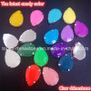 Fluorescence Expoy Rhinestone with Claw Sew on Resin Stone